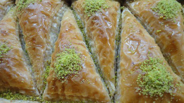 Havuc dilimi karottenschnitte mit pistazien padisah for Baklava bestellen rotterdam