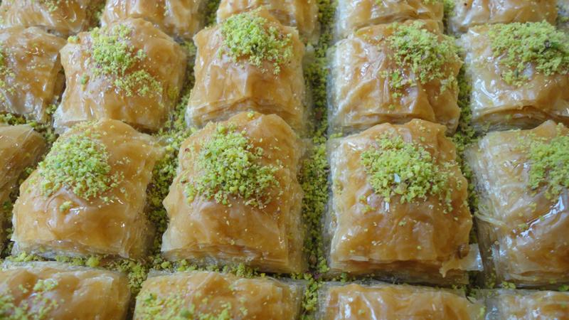 Fistikli baklava baklava mit pistazien padisah baklava for Baklava bestellen rotterdam